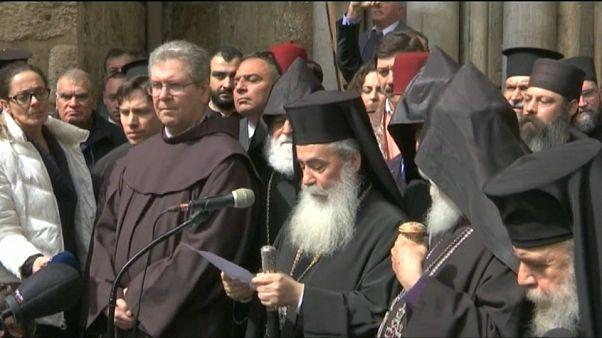 Polémica por los impuestos a las Iglesias cristianas de Jerusalén