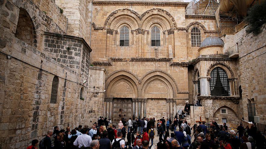 A Jérusalem, le Saint-Sépulcre toujours fermé