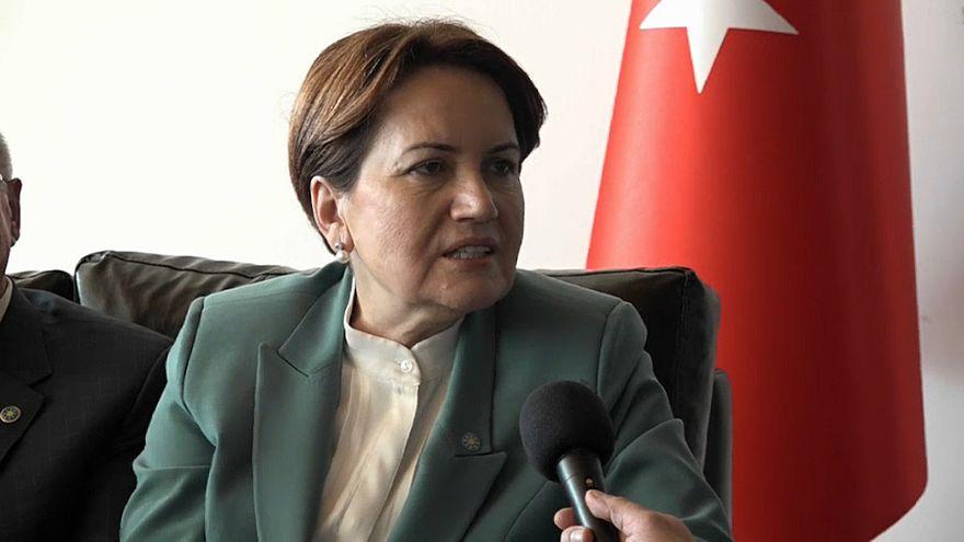 Türkische Politikerin Meral Akşener zur Offensive in Syrien