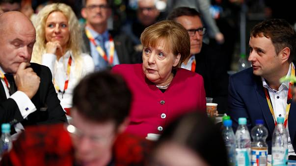 Germany: Merkel's CDU party approves grand coalition deal with SPD