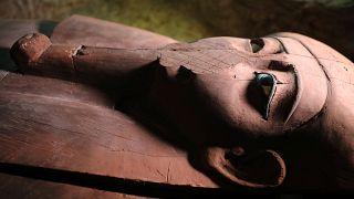 """العثور على """"رسالة فرعونية من العالم الآخر"""" في مقبرة تعود إلى أكثر من الفي عام"""