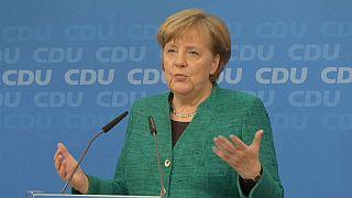 Merkel obtiene el aval de su partido para reeditar la gran coalición