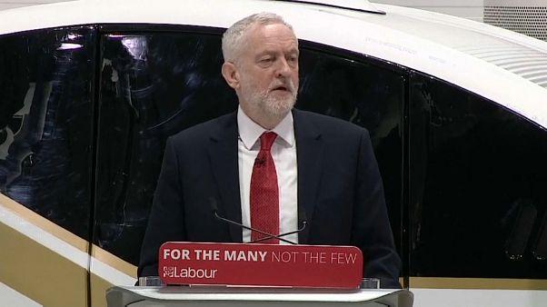 Corbyn aboga por una nueva unión aduanera tras el brexit
