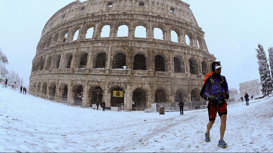 """Correr em torno do Coliseu revelou-se um pouco """"arrepiante"""""""