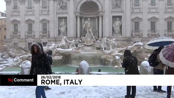 Burian visita Roma