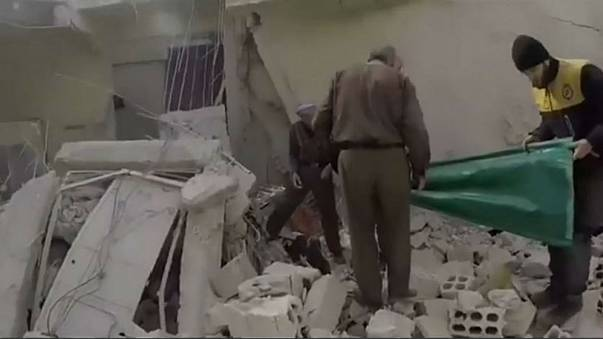 Desperate conditions in Eastern Ghouta