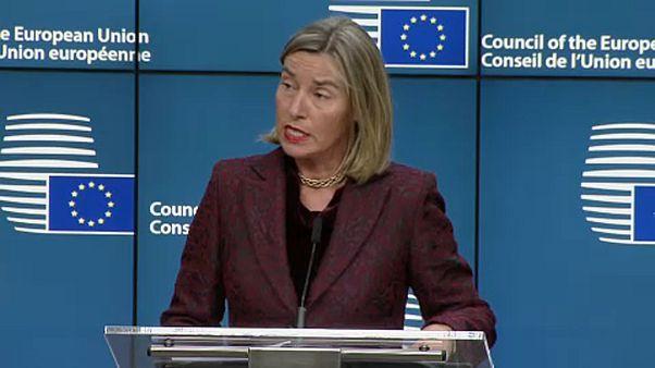 Federica Mogherini, cheffe de la diplomatie UE