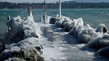 تصاویری از موج سرمای اروپا: از مسکو تا بروکسل