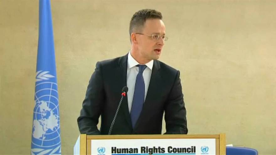Szijjártó Péter lemondatná az ENSZ emberi jogi főbiztosát