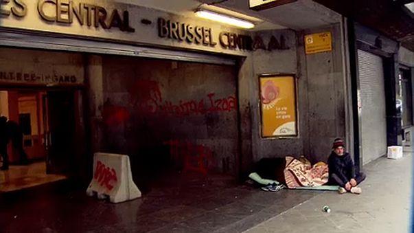Bruxelles si mobilita per salvare i senzatetto dal freddo