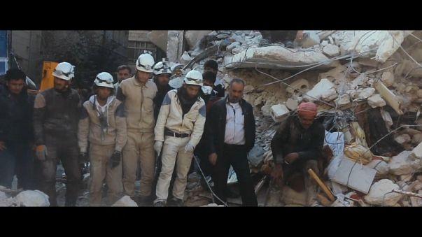 """""""Los últimos hombres en Alepo"""" compite por el Óscar"""