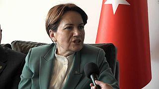 Turkey's Good Party leader Meral Askener