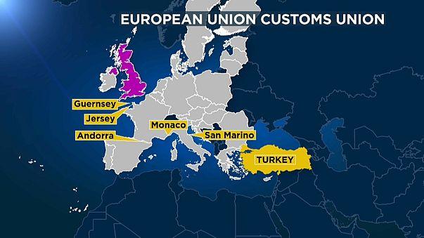 União Aduaneira divide Reino Unido