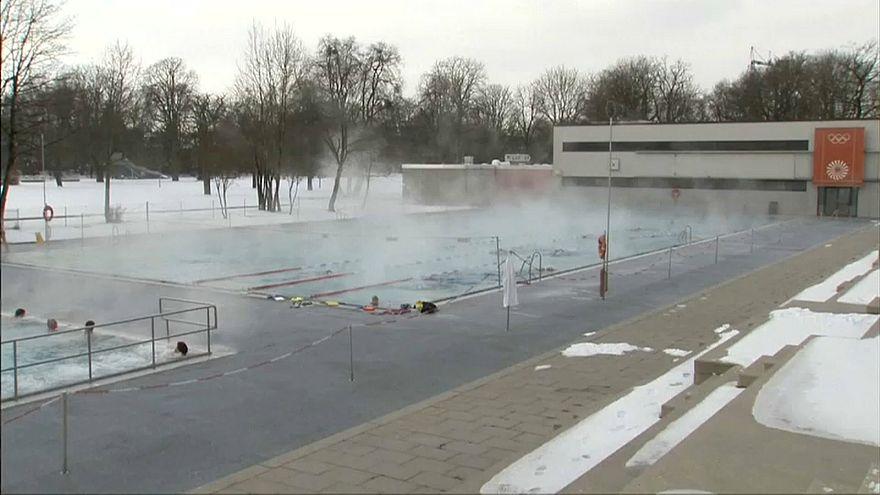 Kältefront in Deutschland