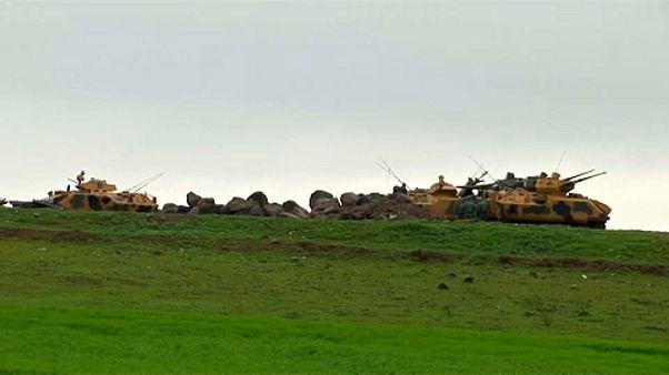 Συνεχίζει τις επιχειρήσεις κατά Κούρδων στην Αφρίν ο Ερντογάν