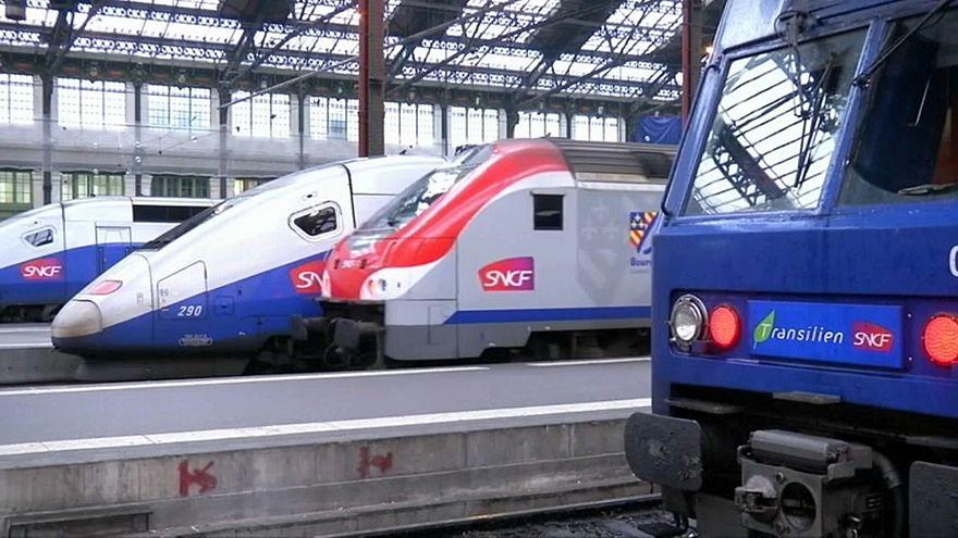 Frankreich: Streik gegen Bahnrefrom