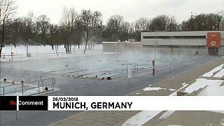 O refúgio dos alemães