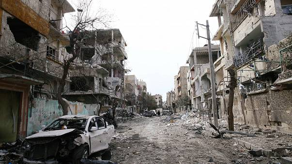 """بدء سريان وقف إطلاق النار لخمس ساعات في الغوطة الشرقية بسوريا الساعة 9 صباحا """"7 بتوقيت غرينتش"""""""