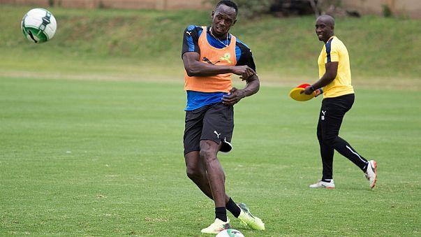 Usain Bolt : après le sprinteur, voici le footballeur