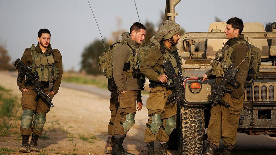 مجموعة من جنود الجيش الإسرائيلي