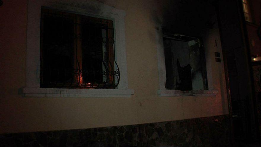 Magyar szervezet irodáját gyújtották fel Kárpátalján