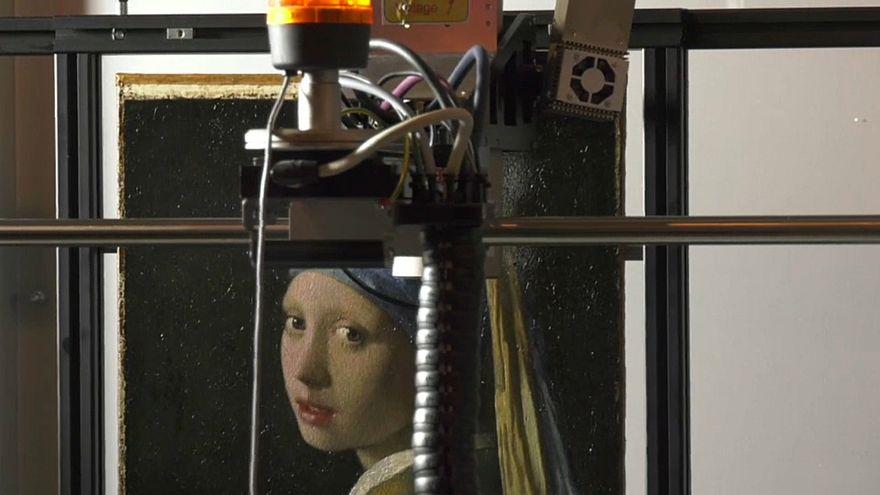 Vermeers Mädchen Mit Dem Perlenohrring Wird Gescannt Euronews