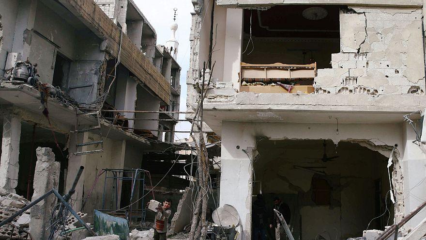 الجيش الروسي: المدنيون لا يستطيعون مغادرة الغوطة الشرقية بسوريا لأن الممر الإنساني يتعرض لقصف بالمورتر
