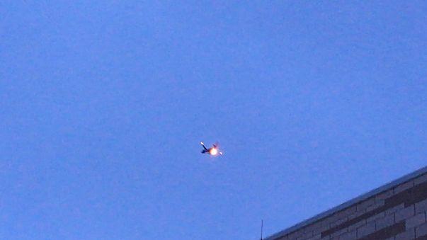 اشتعال النيران في محرك طائرة تابعة لشكرة ساوث ويست الأمريكية