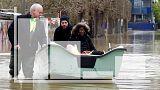 Des habitants évacués de leur domicile à Gournay-sur-Marne le 02/02/18