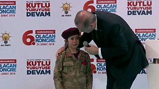 شاهد: كيف حكم أردوغان على طفلة تركية بالاستشهاد