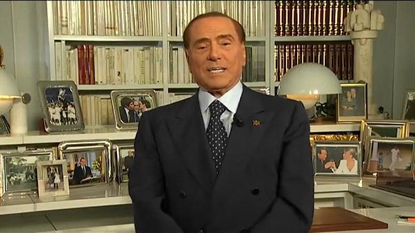 Silvio Berlusconi, el incombustible e inhabilitado favorito