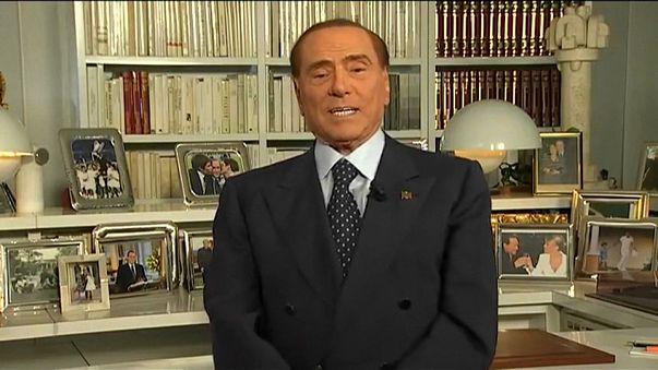 Silvio Berlusconi, el incombustible e inhabilitado favorito