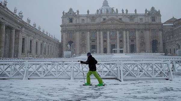 Le froid sibérien gagne l'Europe