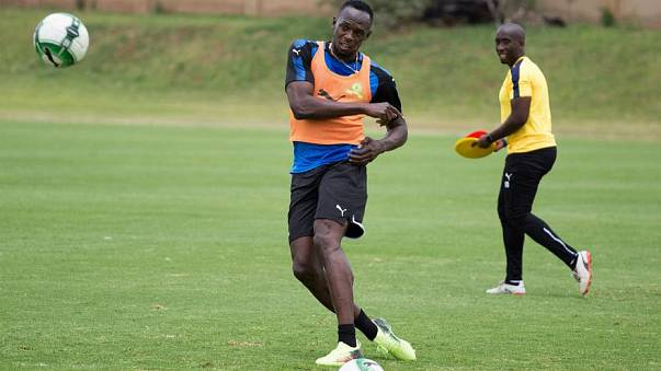 Sprinting champion Usain Bolt set to line-up in charity Soccer Aid match