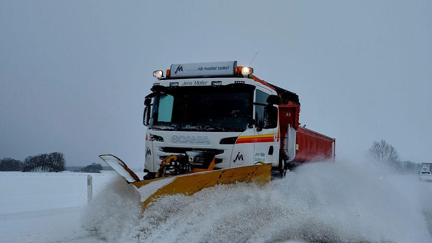 Dias siberianos numa Europa congelada