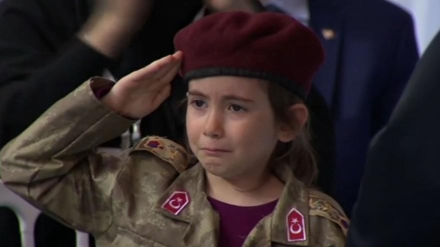 Erdogan slammed for telling sobbing girl, 6, her 'martyrdom' would be honoured