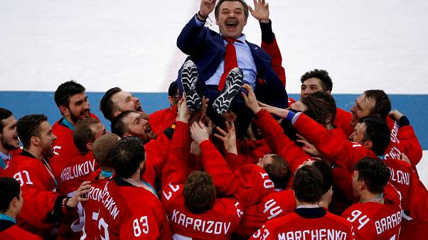 Россия под олимпийским флагом