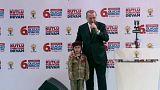 انتقاد از اردوغان به دلیل آرزوی شهادت برای دختری ۶ ساله