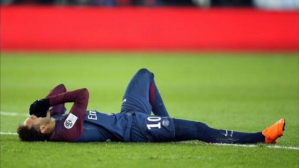 El París Saint-Germain tiembla con la lesión de Neymar