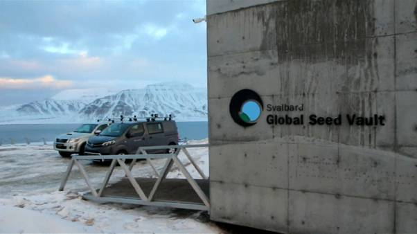Svalbard Global Seed Vault in Norway