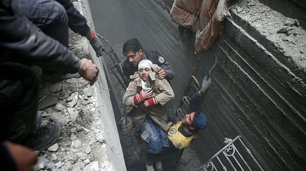 BM: Doğu Guta'ya yönelik bombardıman devam ediyor