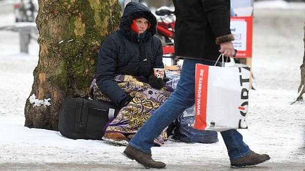 How can you help the homeless during Europe's big freeze?
