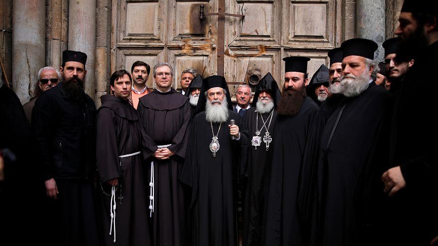 رؤساء كنائس القدس وصفوا قرار فرض الضريبة بالهجوم الممنهج على المسيحيين