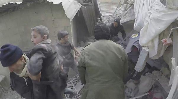 Syria Saqba rescue