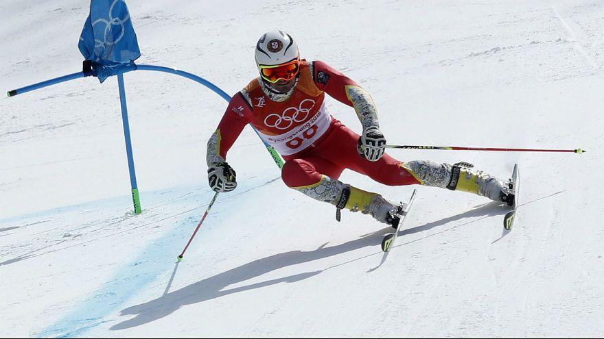"Arthur Hanse colocou Portugal no 38.° lugar do ""slalom"" olímpico"