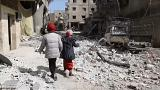 Zivilbevölkerung leidet in Ost-Ghouta