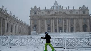 Gelo in Europa, non solo disagi