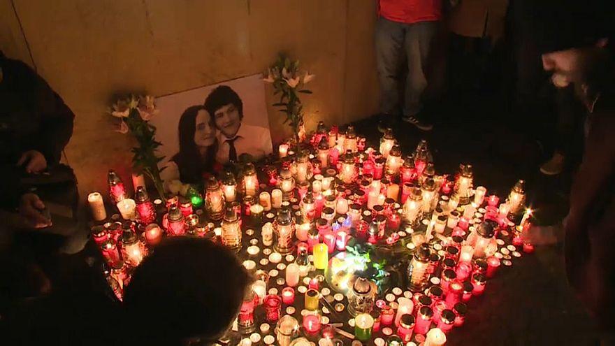 Slovacchia, taglia sui colpevoli e veglie in ricordo di Ján Kuciak