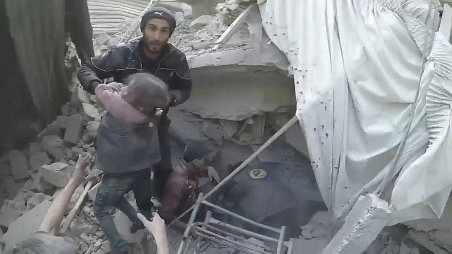 Les civils pris au piège dans la Ghouta orientale