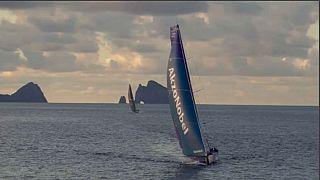 Team AkzoNobel la sesta tappa della Volvo Ocean race